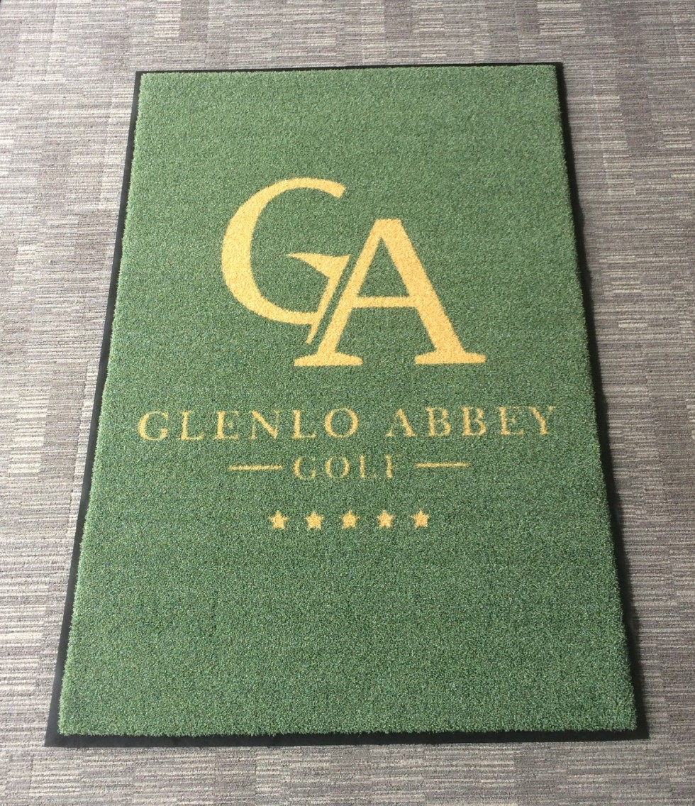 Glenlo Abbey Exterior Logo Mat 2