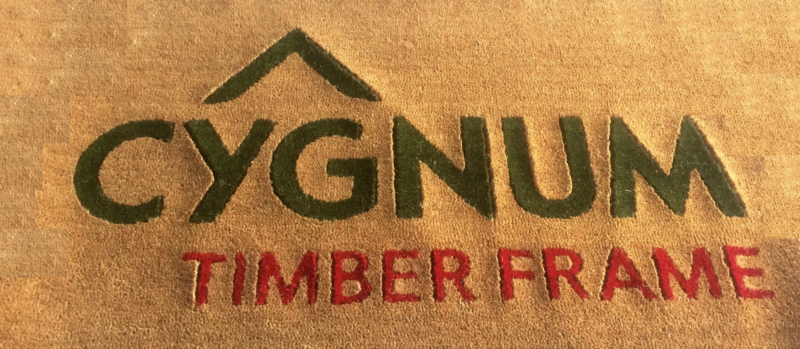 Cygnum Timber Frame Ltd - Logo Mat