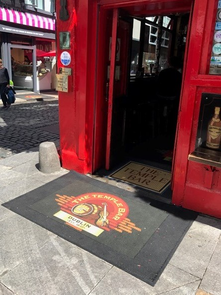 Temple bar Ourdoor Rubber Logo Mat