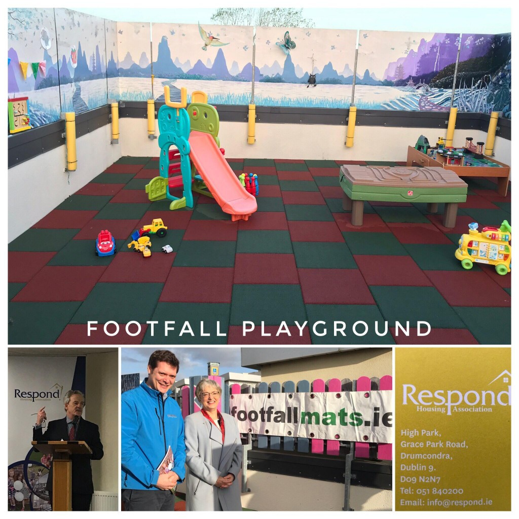Respond Housing - Footfall Playground Matting